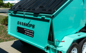 Danskips | Trailer Mounted Skip Bins for Hire | Book Your Bin