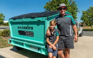 Franchisee Opportunities Danskips Tralier Mounted Skp Bins for Hire